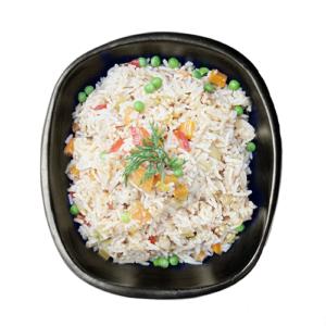 Chinese rijst boordevol groenten